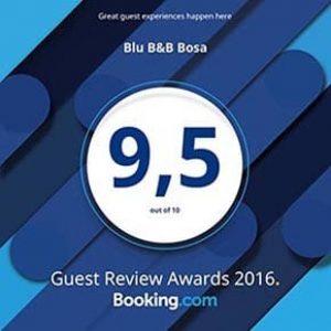 Award Booking 2016 - B&B Blu Bosa