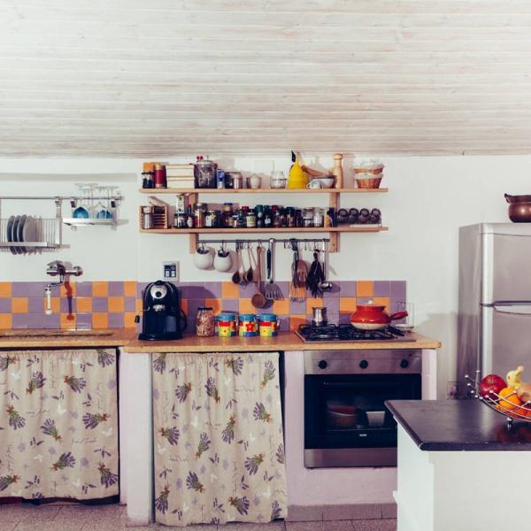 La cucina - B&B Blu Bosa