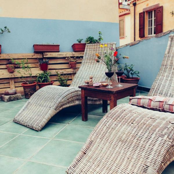 Il terrazzo zen - B&B Blu Bosa